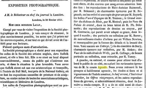 La Lumière - 1854